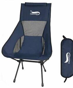 DesertFoxアウトドアチェア 折りたたみ椅子 超軽量【ハイバック】耐荷重150kg 収納袋付属