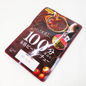 同梱可能 100分煮込む 本格ビーフシチューの素 2~3人前 日本食研/5681x4袋セット/卸