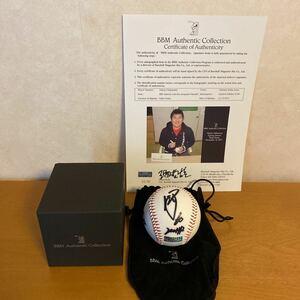 西武ライオンズ 中村剛也選手 通算200本塁打記念 限定直筆サインボール50セット BBM Authentic Collection