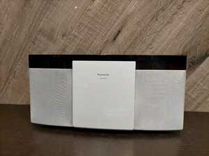 C1369 Panasonic パナソニック コンパクトステレオシステム Bluetooth CD デッキ USB SC-HC29-W ヤマト発送 100サイズ 札幌