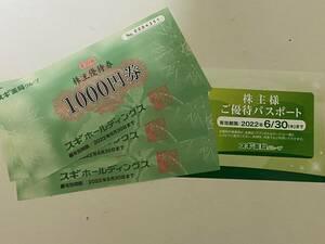 ◆◇【送料込有】スギHD 株主優待券3枚+優待カード◇◆