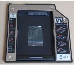国内発送 新品 IBM LENOVO ThinkPad X200/X200S/X200T/X201/X201S/X201i セカンドHDDアダプター◆SSDマウンタ SATA接続 9.5mm