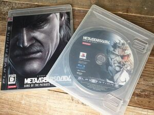 10/10r5.h貴重☆PS3☆メタルギアソリッド4☆2点セット☆METALGERSOLID4☆同商品☆ゲーム☆ソフト☆名作☆人気☆希少☆レア