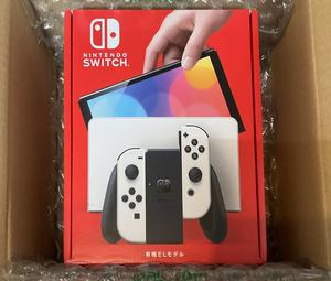新品 未開封 Nintendo Switch 本体 有機ELモデル ホワイト ヨドバシカメラで購入(Joy-Con L R 白)ニンテンドースウィッチ 任天堂スイッチ