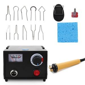 ◆最安にします◆ ウッドバーニングセット KKmoon 1-7D 溶接ワイヤトップ 木材工芸焼きツール 温度調節可能 焼画機 焼画ペン AT8500