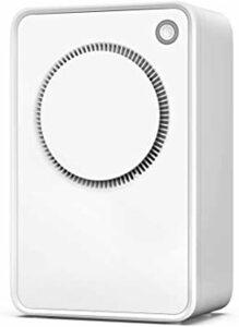 white Sinvitron 除湿機 小型 衣類乾燥 除湿器 1000ml容量 自動除湿 自動停止機能 部屋干し コンパクト