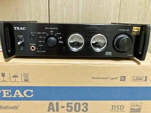 美品 TEAC AI-503 USB DAC/プリメインアンプ 保証期間内