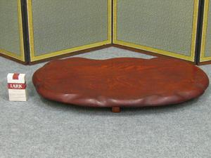 【心庵】木製/平卓 盆栽台 花台 飾台 M8085