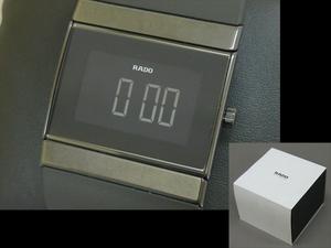 【心庵】RADO ラド― 自動巻 デジタル 腕時計 稼働品 IO801