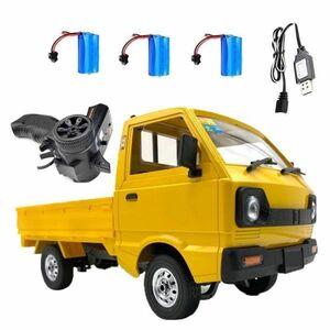 峻烈価格!wpl 1 D12ためスズキキャリー1/10 4WDシミュレーションドリフトトラック登山車ledライトrcカーのおもちゃ男の子キッズギフト