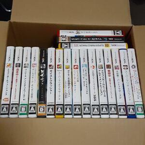 3DS ゲームソフトまとめ売り 19本 動作確認済 スーパーマリオ マリオカート7 どうぶつの森 ハッピーホームデザイナー スマブラ ポケモン