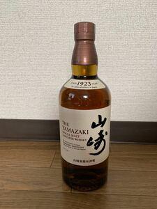 【新品未開封】サントリー 山崎 700ml ノンビンテージ シングルモルトウイスキー