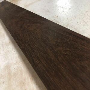 本紫檀 厚板 板目 長さ845㎜ 100サイズ 美品
