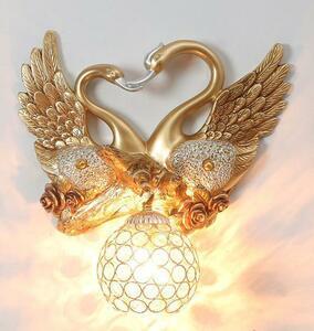BD020鳥/白鳥/動物/壁掛け照明 壁掛け灯 インテリア照明 壁掛け灯 高級照明 洋風