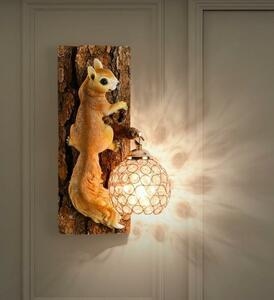 【1円開始】BD038りす/ねずみ/動物/ぎんいろ/壁掛け照明 壁掛け灯 インテリア照明 壁掛け灯 高級照明