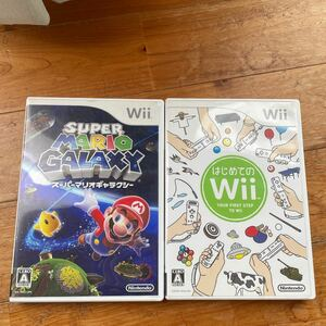 任天堂Wii スーパーマリオギャラクシー Wii MARIO Wiiソフト はじめてのwii