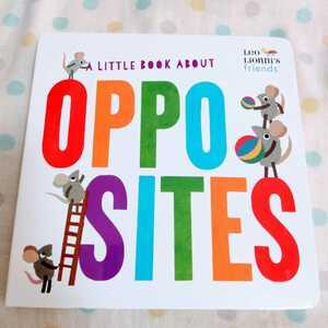 【新品】レオ・レオニ 英語絵本 OPPOSITES ボードブック