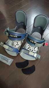 ride snowboard ライド ジェフブラッシー モデル ビンディング Jeff Brushie 3日使用 バートン ( burton ) →ライド(ride) スノーボード