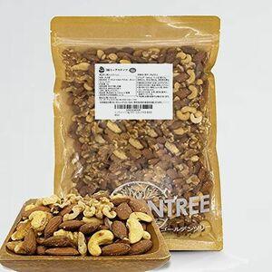 新品 好評 1kg 大粒3種ミックスナッツ T-6Y 備蓄食 保存食 新物生くるみ、素焼きカシュ-、素焼きア-モンド無添加 食物油不使用