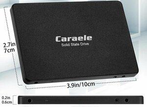 SSD 512GB 新品 未使用 だったけれど 箱に少しへこみが見られたために開封 Caraele K500 2.5 INCH SATA3 SSD Disk