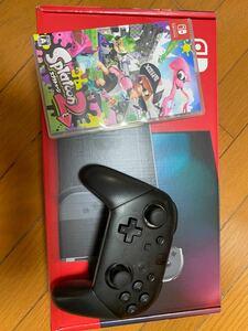 Nintendo switch 本体 スプラトゥーン2 プロコン