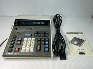 CASIO カシオ 162-F 電卓 計算機 動作品 昭和レトロ ビンテージ