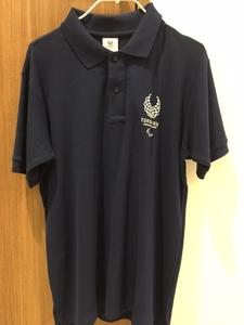 【新品】◇30%OFF◇東京2020公式オリジナル商品★パラリンピックエンブレムベーシックポロシャツ★Sサイズ紺