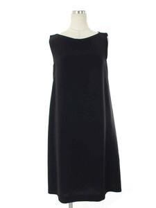 フォクシーニューヨーク ワンピース 37196 Summer Black Mini Dress ノースリーブ 40