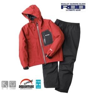 リバレイ RBB タイドストレッチ レインスーツ M オックスブラッド 新品 透湿防水 レインスーツ 軽量 伸縮素材