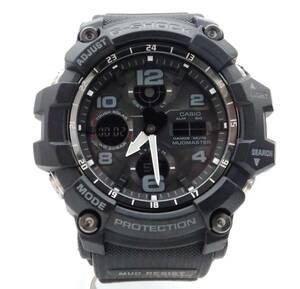 CASIO カシオ G-SHOCK ジーショック MUDMASTER マッドマスター GWG-100-1AJF ブラック 電波ソーラー メンズ 腕時計 店舗受取可