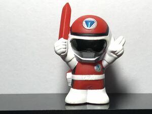 ◆ 戦隊ヒーロー 指人形 ミニソフビ フィギュア フラッシュマン