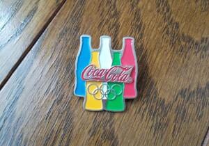 ピンバッジ  ピンバッチ コカ・コーラ Coca-Cola オリンピック 五輪
