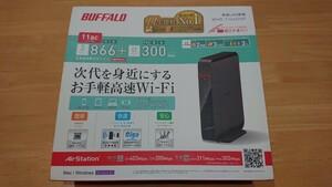 BUFFALO WHR-1166DHP 無線LANルーター