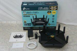 ARCHER AX6000 TP-Link 無線LANルーター親機 5GHz 4804 Mbps+2.4GHz 1148 Mbps 元箱付き □H000410t