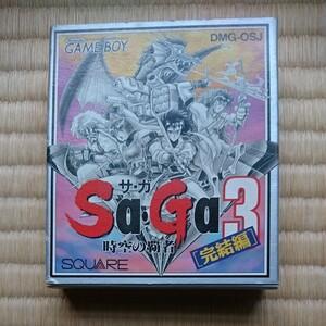 【箱・取説あり】サガ3 SaGa3 時空の覇者 ゲームボーイ ソフト