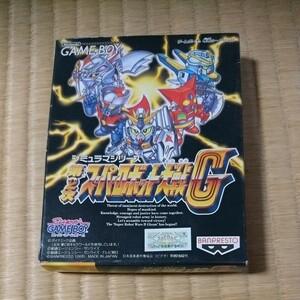 【箱・取説あり】第2次スーパーロボット大戦G ゲームボーイ ソフト