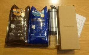 タリーズ 福袋 コーヒーミル コーヒー豆 セット