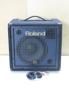 【1円スタート!】Roland ローランド KC-60 高音質 キーボードアンプ 動作良好 ハ7732 D3
