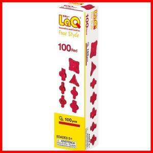 ラキュー (LaQ) フリースタイル(FreeStyle) 100レッド