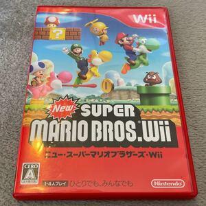 ニュースーパーマリオブラザーズWii Wii Wiiソフト Newスーパーマリオブラザーズ ニュースーパーマリオブラザーズ