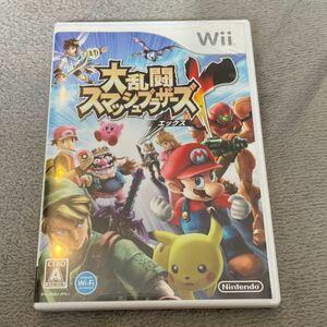 大乱闘スマッシュブラザーズX Wii 大乱闘スマッシュブラザーズ スマブラ 任天堂Wii ゲームソフト