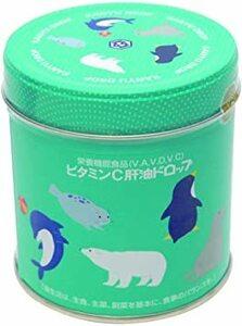 300粒 (x 1) 河合(カワイ)ビタミンC肝油ドロップ 300粒
