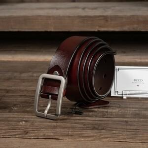 【送料無料】 イタリアンレザー 牛革 フリーサイズ カジュアル メンズ ベルト 新品 未使用 紳士 男性 1円 一円 革 本革 レザー 茶 ブラウン