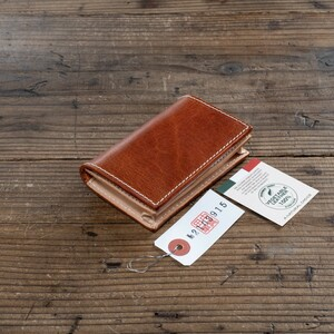 メンズ 名刺入れ カード入れ 定期入れ ヌメ革 本革 カードケース 牛革 ビジネス 新品 未使用 送料無料 1円 イタリアンレザー 茶 ブラウン