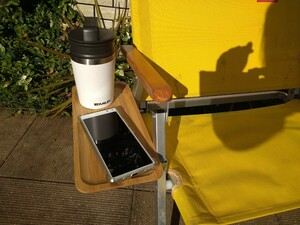 Coleman コールマンフォールディングチェア用 サイドテーブル