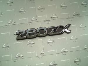日産純正 S130 280ZX フェアレディZ サイドエンブレム Z33 Z34 Z32 Z31