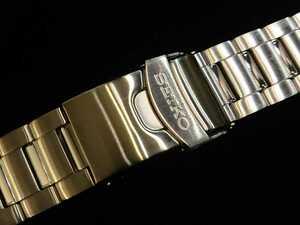 新品 SEIKO セイコー 純正ブレス 22mm ステンレスメタルブレスレット 22ミリ ダイバー など