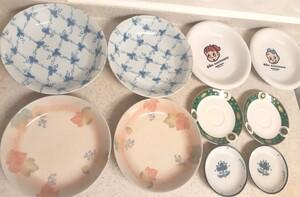 お皿 一般家庭用 可愛いお皿 ペア 食器 プレート皿