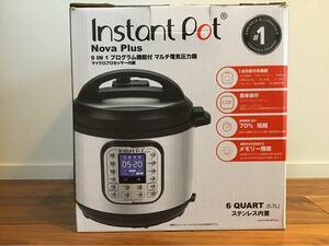 インスタントポット 電気圧力鍋 5.7L Instant Pot Nova Plus