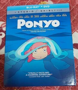 BD「崖の上のポニョ」北米版Blu-ray(新品開封品)